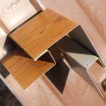 Металический сайдинг Блок-Хаус и доборные элементы