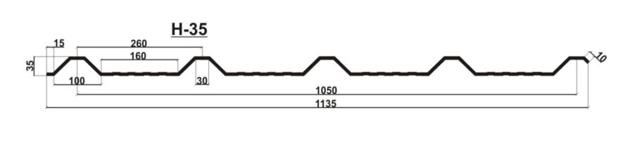 Профнастил C-8 H-35